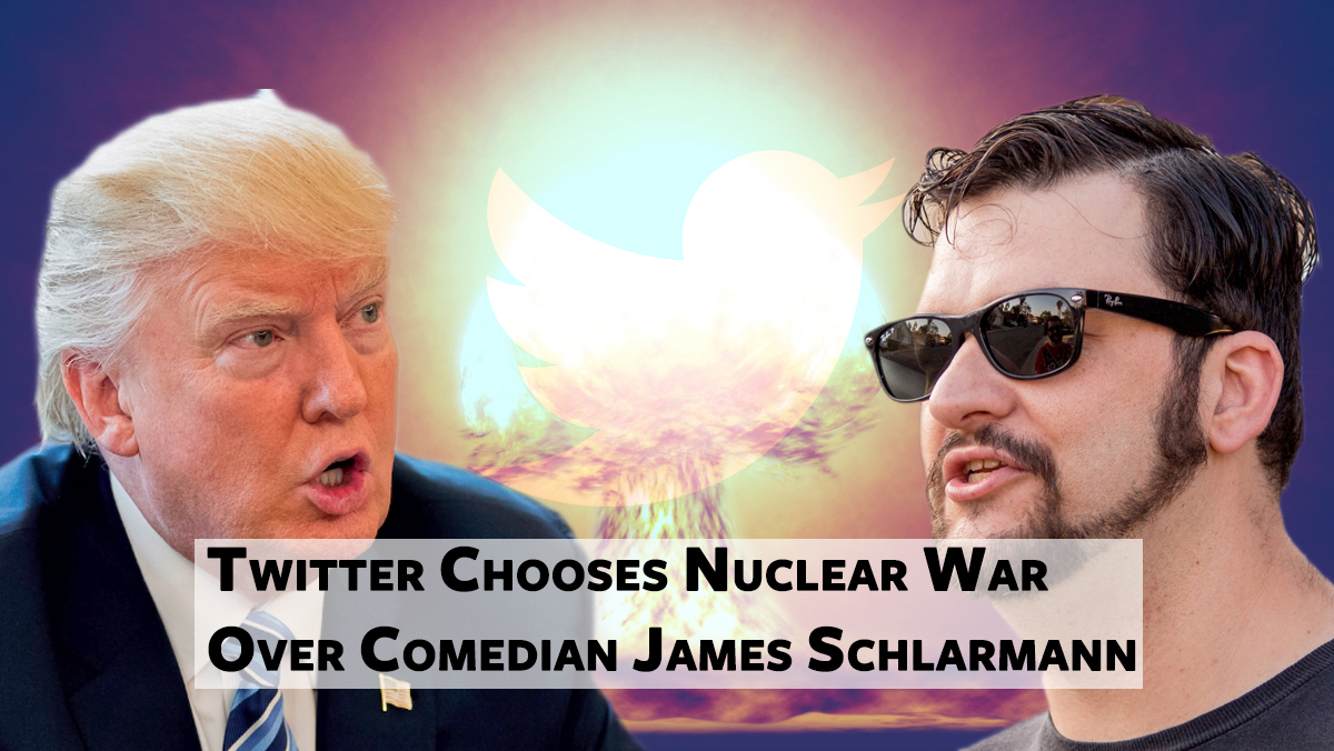 Social media giant Twitter says nuclear war is good for business.